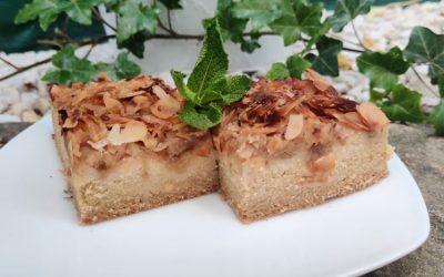 Almás sütemény, aszalványos muffin recept