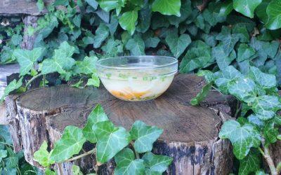 Édes Zöldséges köles leves 2 főre