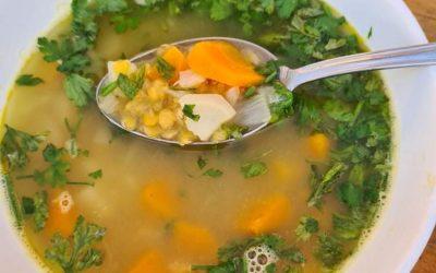 Vöröslencse leves és palacsinta recept