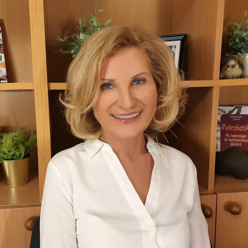 Sebestyén Szilvia, a női makrobiotikus táplálkozás szakértője
