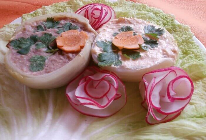 Húsvéti sonka ízű vörösbabkrém